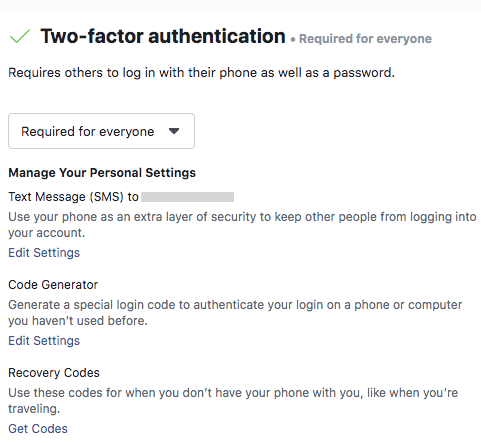 Increase security on Your Facebook Business Manager Account