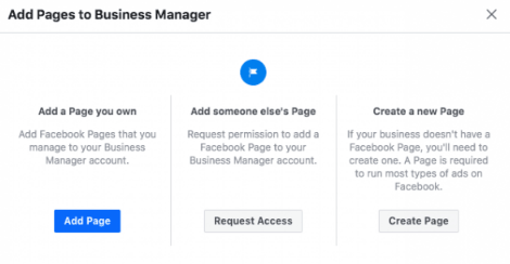 Add a Facebook Business Page(s)