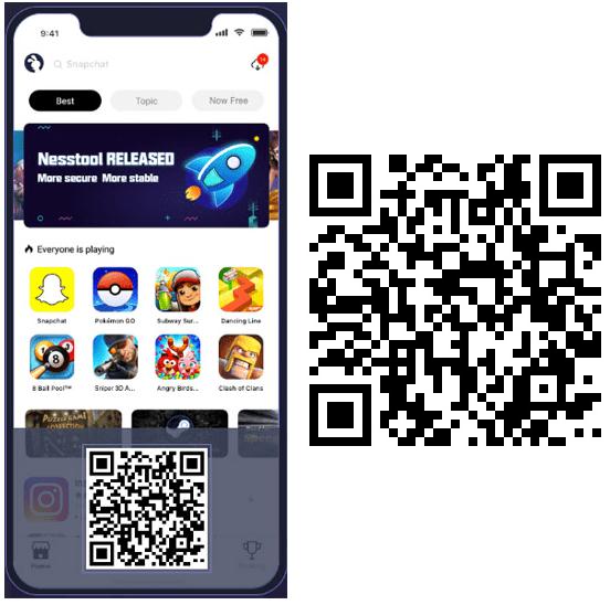 TutuApp Download iOS using QR Code