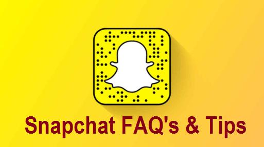 Snapchat FAQs
